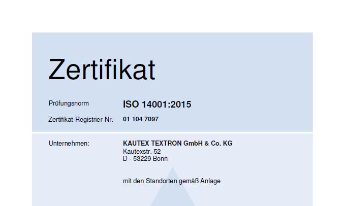 ISO 14001 Global DE Bild