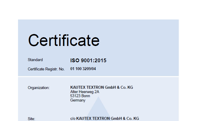 ISO 9001 Waldkirch Picture